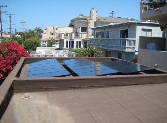Flat Roof Tilted Venice Beach